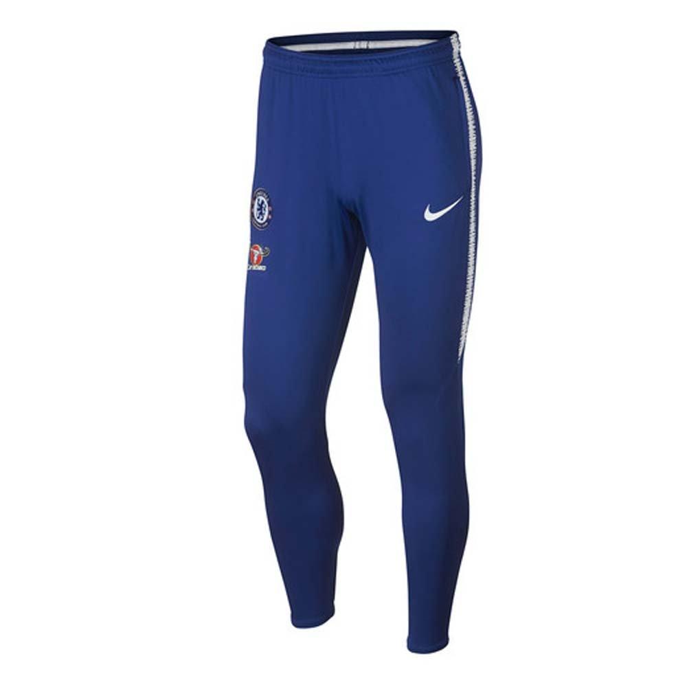 NIKE 2018-2019 Chelsea Squad Training Pants (Blue)