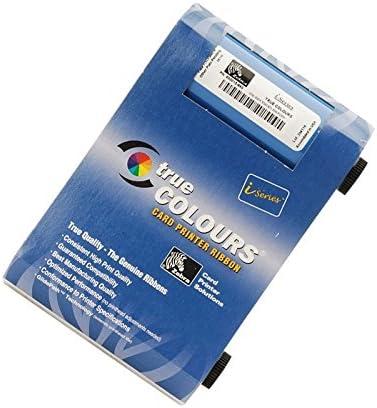 P110i and P120i only 800017-240 YMCKO Zebra Color Ribbon 200 prints