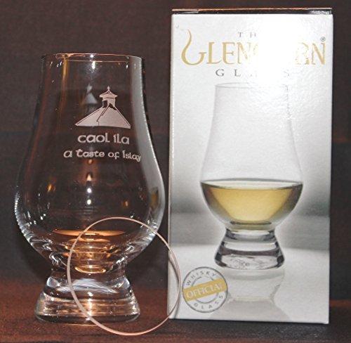 CAOL ILA PAGODA TOP GLENCAIRN SINGLE MALT SCOTCH WHISKY TASTING GLASS WITH WATCH GLASS COVER