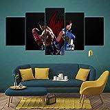 ZKSB Canvas Wall Art Tekken 7 Asuka Jin X Asuka