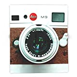 Society6 Classic Retro White With Brown Leather Vintage Camera IPhone 4 4s 5 5c, Ipod, Ipad Case 88'' x 104'' Blanket