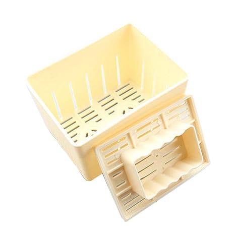 Elenxs Tofu prensado Molde del Fabricante de moldes de plástico Bricolaje casero cuajada de Soja con