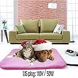 Hongxin 240V 50W Pet Heating Pad Classic Pet Dog Cat Waterproof Electric Pad Heater Warmer Mat Bed Blanket Heating Pad Pets Acessorios