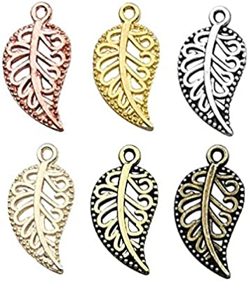 4 Pieces Antique Silver Alloy Hollow Tube Charms Pendants For Jewelry Handmad