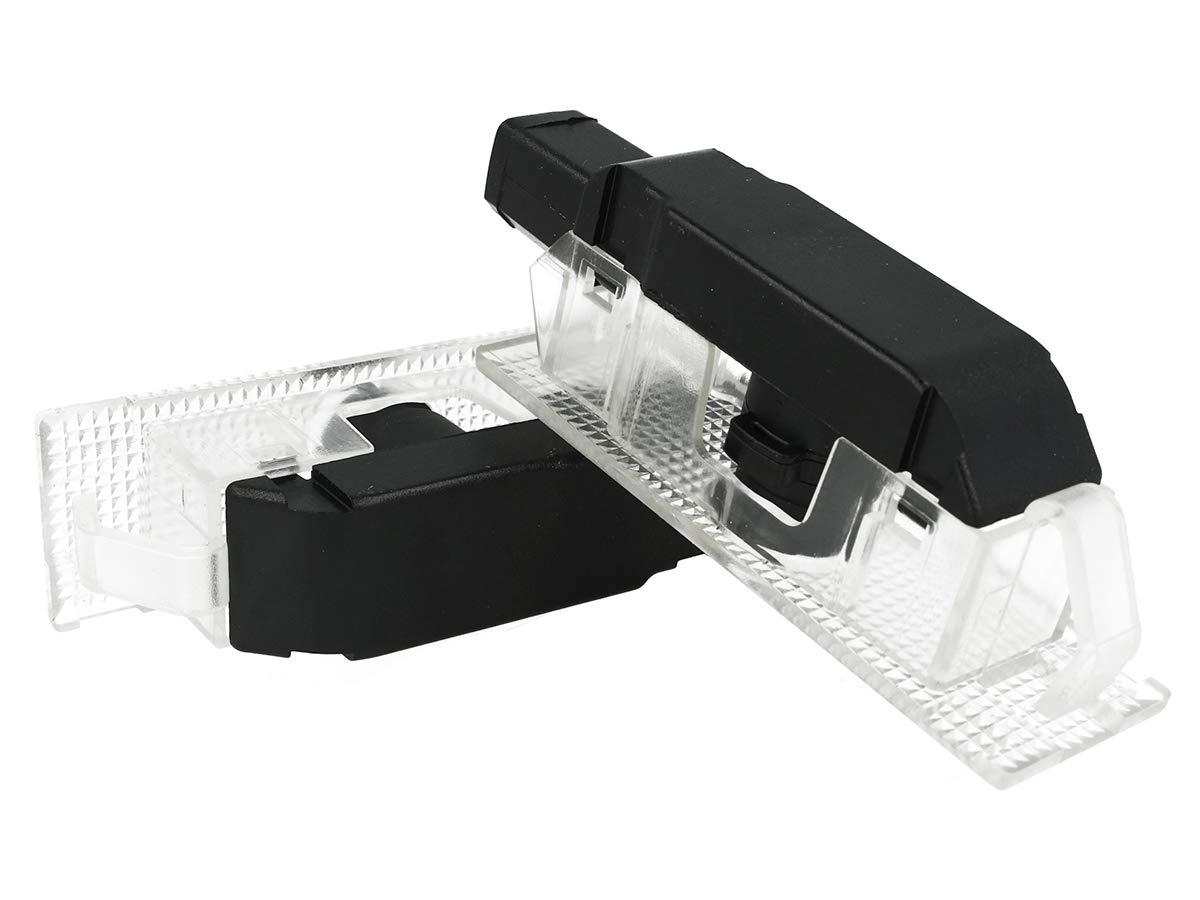 5 W Canbus sin error Plug /& Play 12 V Caral LG5352 Kit de luces LED con logotipo 2 unidades proyectores para puerta de coche