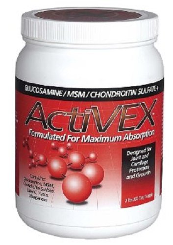 ActiVEX 2 lb Formulated For Maximum Absorption Horse Supplement with Glucosamine, MSM Powder, and Chondroitin Sulfate