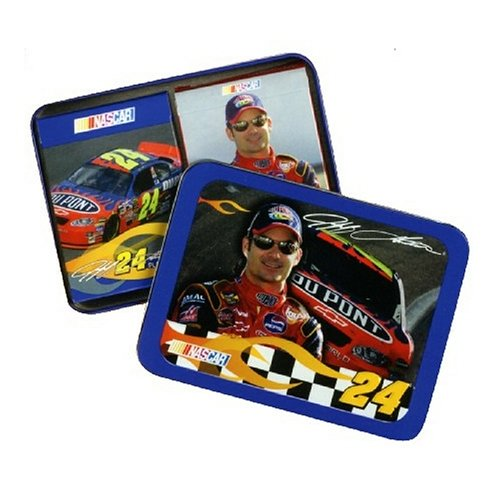 The U.S. Playing Card Co. Jeff Gordon Playing Cards in a Tin with 2 Decks