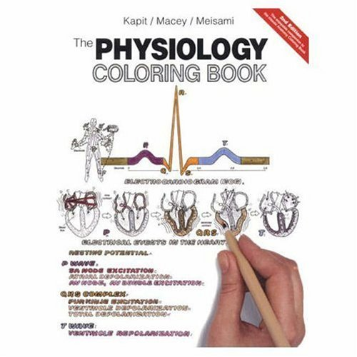 amazoncom the physiology coloring book 2nd edition 9780321036636 wynn kapit robert i macey esmail meisami books - Physiology Coloring Book