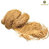 SunGrow Coconut Fiber (1.5 oz) - Comfortable Bedding for Small Birds and Animals: 100% Natural Nest Material: Great for Nest building and Hideouts: Dust Free
