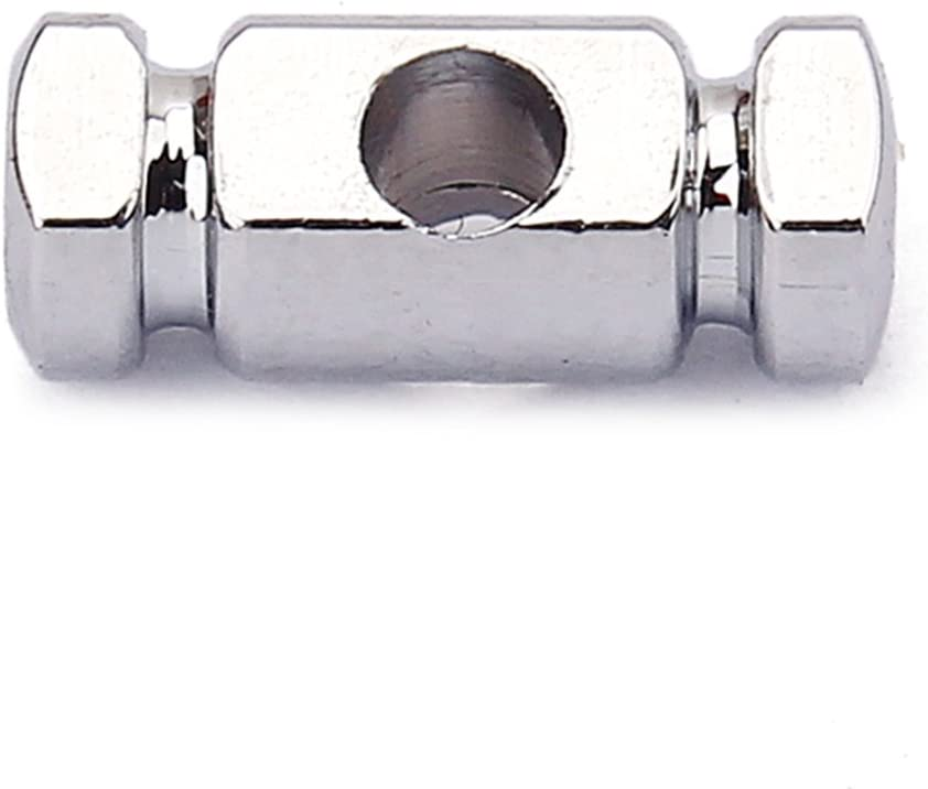 2 Pieces Roller String Tree Retainer Chrome Replacement for Electric Guitar