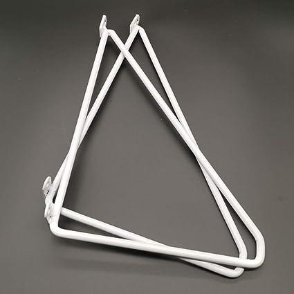 OWUV escuadras para estanterias Triangular Iron Art, un Juego ...