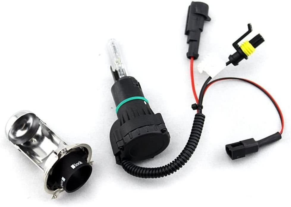Pack of Two H4-3 9003 Hb1 High//low Bi-xenon Beam Xenon HID Direct Replacement Bulbs 12V 35W, 12000K