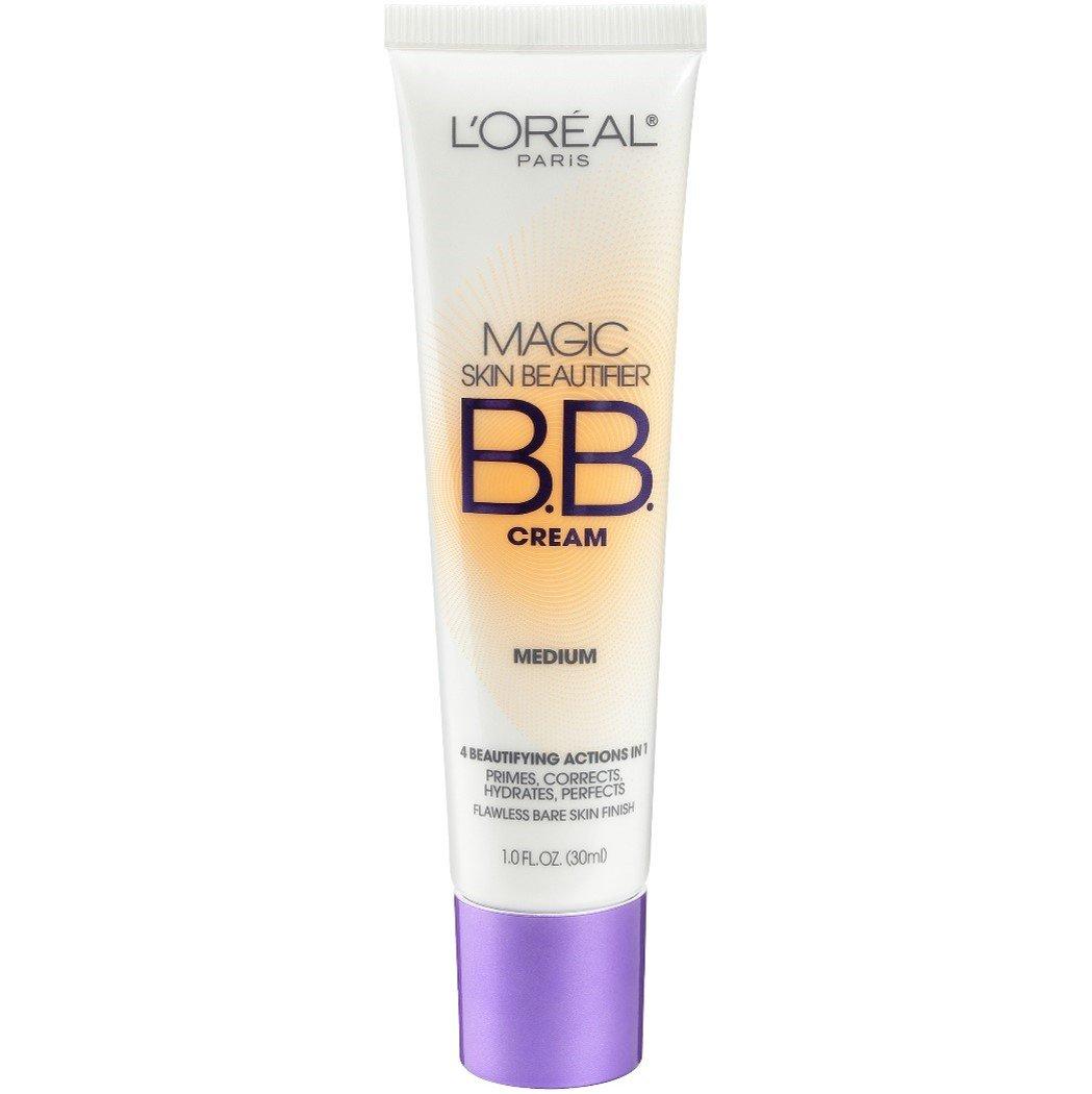L'Oreal Paris Magic Skin Beautifier BB Cream, Medium, 1.0 Ounces L' Oreal Paris 814 Medium