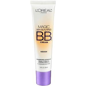 L'Oréal Paris Makeup Magic Skin Beautifier BB Cream Tinted Moisturizer Face Makeup, Medium, 1 fl. oz.