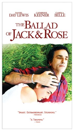 The Ballad of Jack and Rose [VHS] -  VHS Tape, Rated R, Rebecca Miller