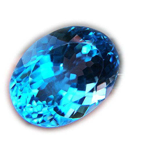 29.24ct Natural Oval Irradiation Swiss Blue Topaz Brazil #B by Lovemom (Image #6)
