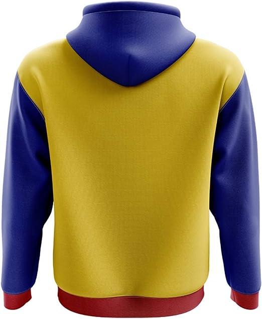 Airo Sportswear Venezuela Concept Country Football Hoody (Yellow): Amazon.es: Deportes y aire libre