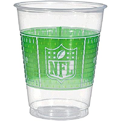 "NFL Drive Collection"" Plastic Party Cups: Toys & Games,"