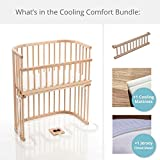 babybay Bassinet Cooling Comfort Bundles in Trendsetter (Light Gloss)