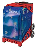 ZUCA Aurora Sport Insert Bag and Red Frame with Flashing Wheels