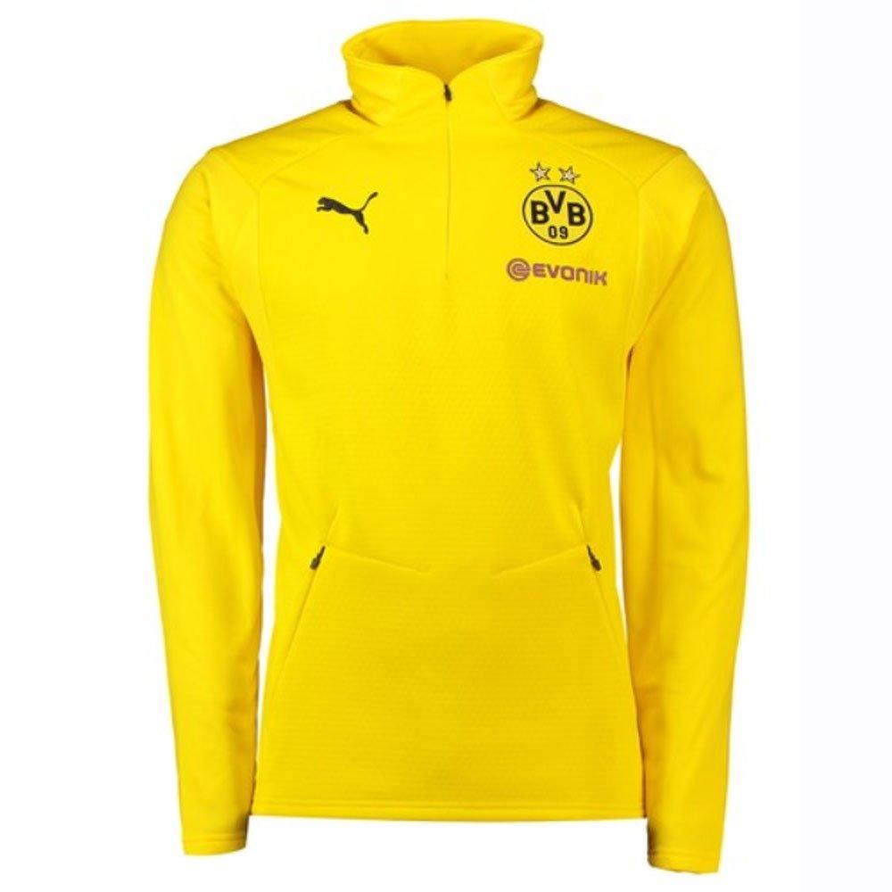 Puma 2018-2019 Borussia Dortmund Training Fleece (Yellow)