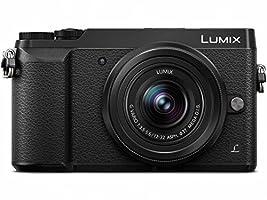 PANASONIC LUMIX GX85 Camera with 12-32mm Lens, 4K, 5 Axis Body Stabilization, 3 Inch Tilt and Touch Display, DMC-GX85KK (Black USA)