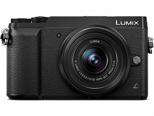 PANASONIC LUMIX GX85 Camera with 12-32mm Lens, 4K, 5 Axis Body Stabilization, 3 Inch Tilt and Touch Display, DMC-GX85KK (Black USA)