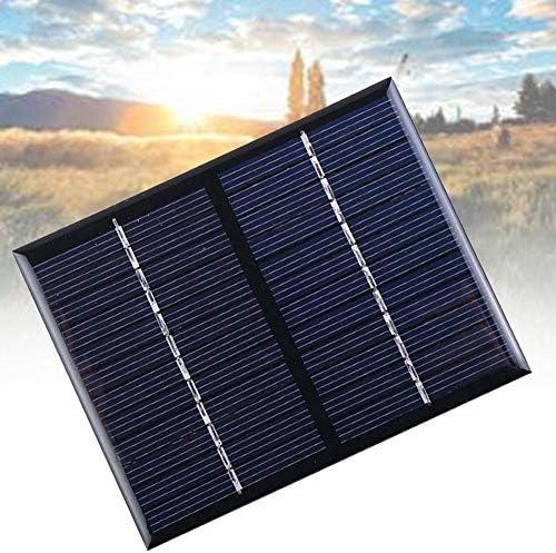 LINKLANK Solarpanel, 12 V, 2 W, Solarmodul, Polykristallin, ideal für Garten, Wohnwagen, Wohnmobil