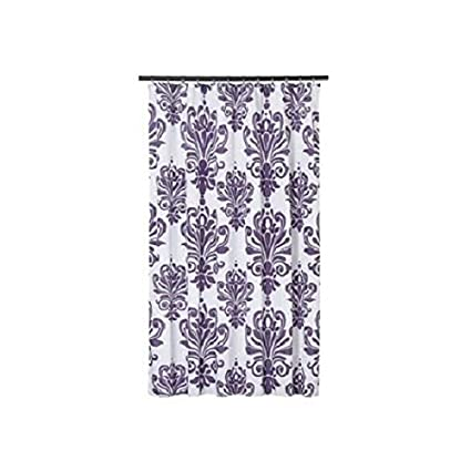 f42520e6ac246 Amazon.com: Extra Long Shower Curtain 72 x 78 Inch Gamma Purple And ...