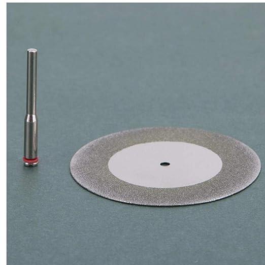 Disco de corte de diamante Mini taladro Herramienta Dremel para disco de diamante Herramienta de disco de acero Sierra circular Abrasivo 60mm