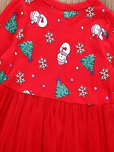 BBsmile Disfraz Caperucita Roja Traje del Vestido Niña Bebé Ropa Recien Nacido Vestido Infantil Disfraz de Princesa de Niñas para Fiesta Carnaval Cumpleaños ...