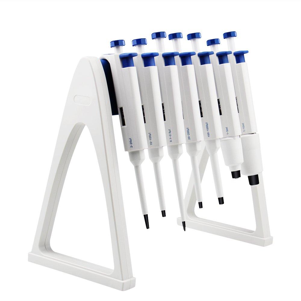 Four E's Scientific Laboratory Pipette Stand,Hold Up to 7 Pipettes by FOUR E'S SCIENTIFIC