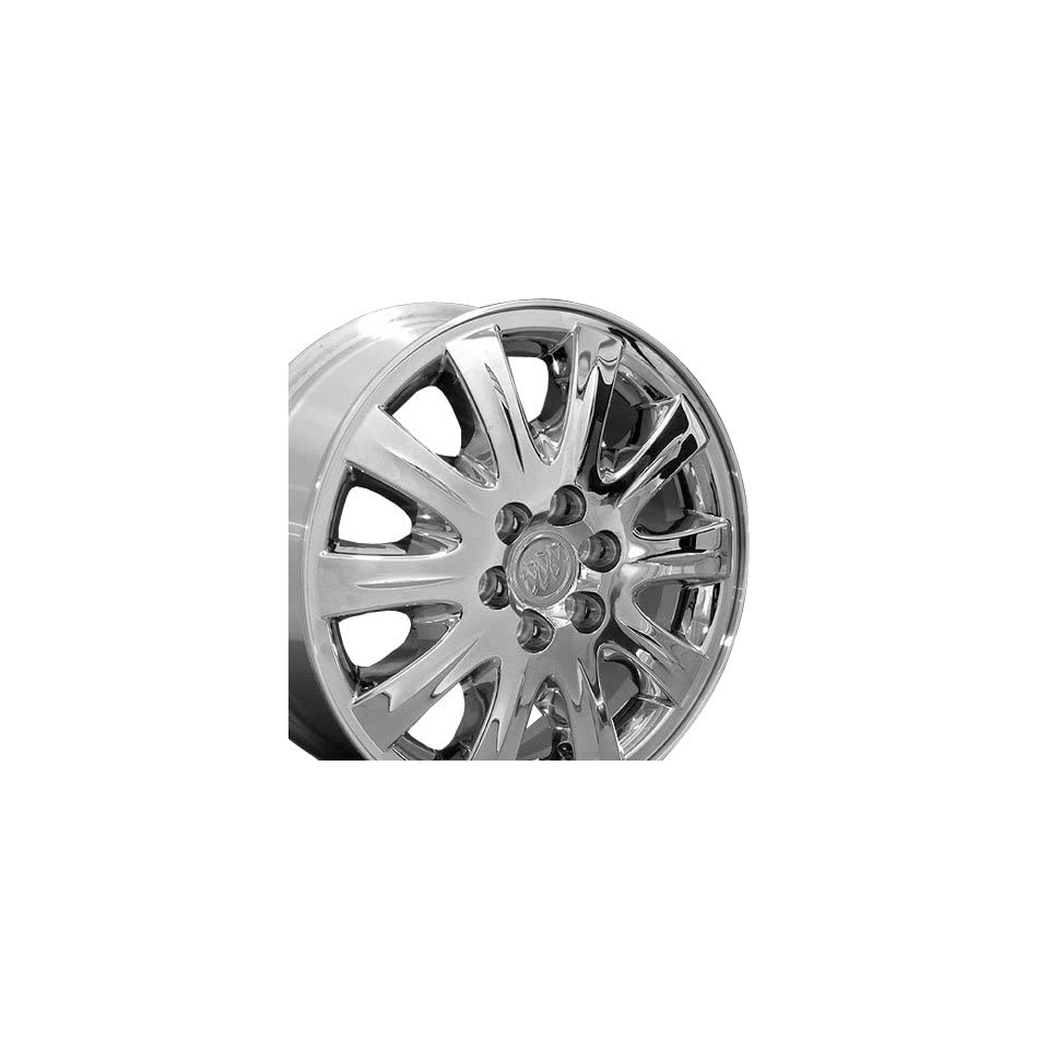 Factory Original Terazza 4069 OEM Wheels Fits Buick  Chrome Clad17x6.5 Set of 4
