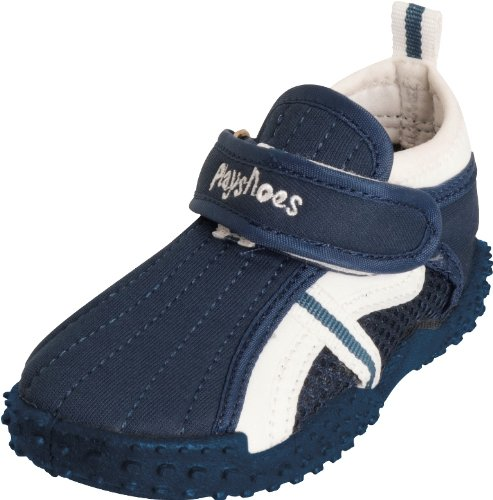 Playshoes Children's Aqua Beach Water Shoes (8.5 M US Toddler, Navy) by Playshoes (Image #8)
