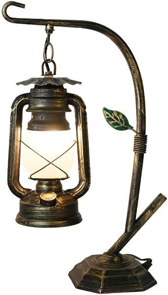 Lámpara de mesa industrial, Casa de campo rústica de la novedad de ...