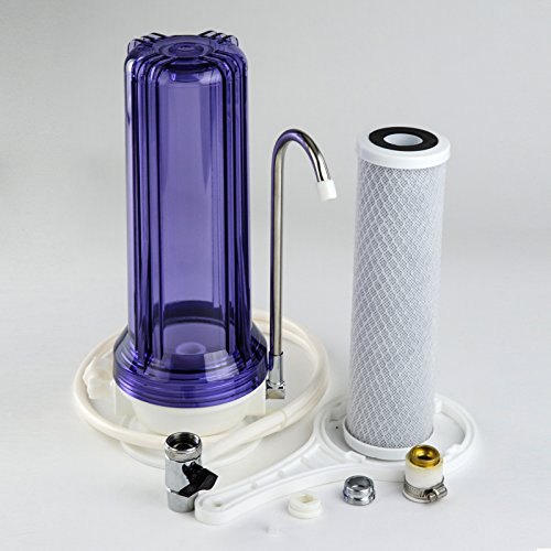 iSpring CKC1C Countertop Drinking Water Filtration System, 2.5'' x 10'' by iSpring (Image #2)
