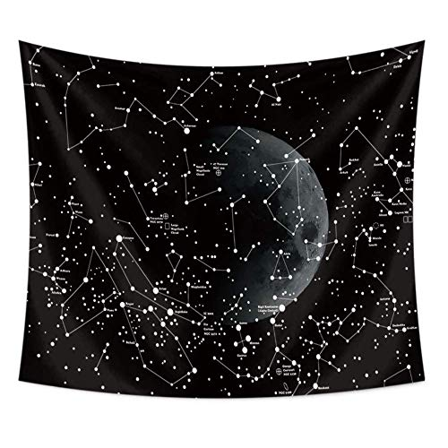 - Astrology Decor Tapestry by Chengsan, Constellation of Zodiac and Planets Original Collection Coordinates of Celestial, Wall Hanging for Bedroom Living Room Dorm 79x59 inches