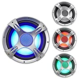 NYC Acoustics NC12S4 1600 W 12' 4 Ω Car Audio Subwoofer with LED Sub Grille