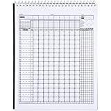 Murray Sporting Goods Baseball Scorebook - 35 Games - 16 Players
