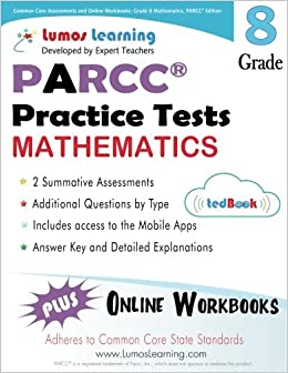 Common Core Assessments and Online Workbooks: Grade 8