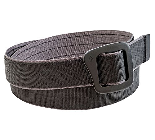Black Diamond Unisex Diamond Mine Belt Black ()