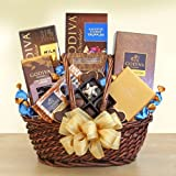Chocolate Lovers Delights | Godiva Chocolate Gift Basket