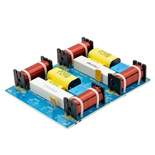 Aiyima 2PCS speaker 3unità filtri Crossover 3vie divisore di frequenza audio per altoparlanti 120W