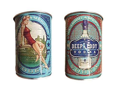 Deep Eddy Vodka Tin Cups (Set of 4)