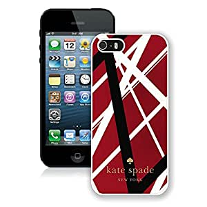 Popular Customize iPhone 5S Phone Case Kate Spade New York Unique Cover Case For iPhone 5S 83 White