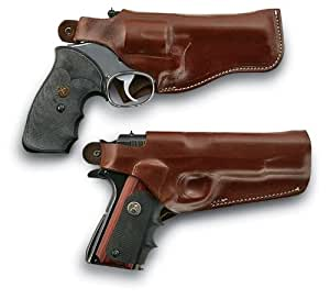 """Thumb Break Holster - 6"""" bbl S&W K and L Frame Ruger GP-100, LH"""
