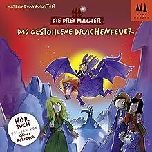 Das gestohlene Drachenfeuer (Die Drei Magier 3) Hörbuch von Matthias von Bornstädt Gesprochen von: Oliver Rohrbeck