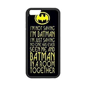 "DIY I'm Not Saying I'm Batman Iphone6 Phone Case, I'm Not Saying I'm Batman Customized Hard Back Case for iPhone 6 4.7"" at Lzzcase"