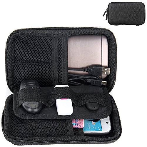 Festplattentasche, Bingsale Schutzhülle Tasche für externe Festplatte 2,5 Zoll Hülle