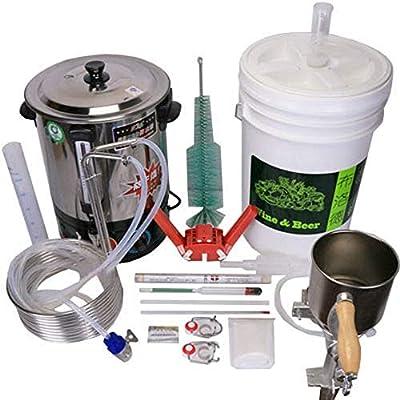 YUEWO 58L DIY Moonshine Still Home Beer Distiller Brewing Equipment Tool Kit